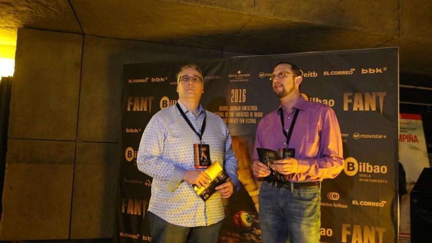 """FANT Bilbao acoge esta noche la premiere en el Estado de la comedia de terror """"They are watching"""""""