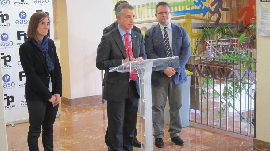 """Urkullu dice que Euskadi """"va en la buena dirección"""""""