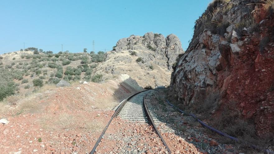 Última curva cerrada antes de llegar al segundo túnel