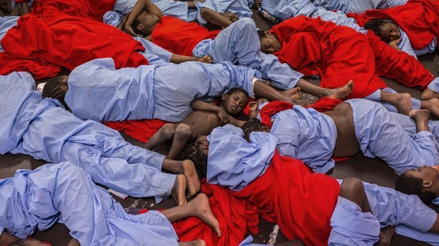 Fotografía de la crisis de refugiados en 'Click 2017'