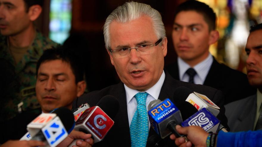 Garzón considera un sarcasmo hablar de delito contra las instituciones el 25S