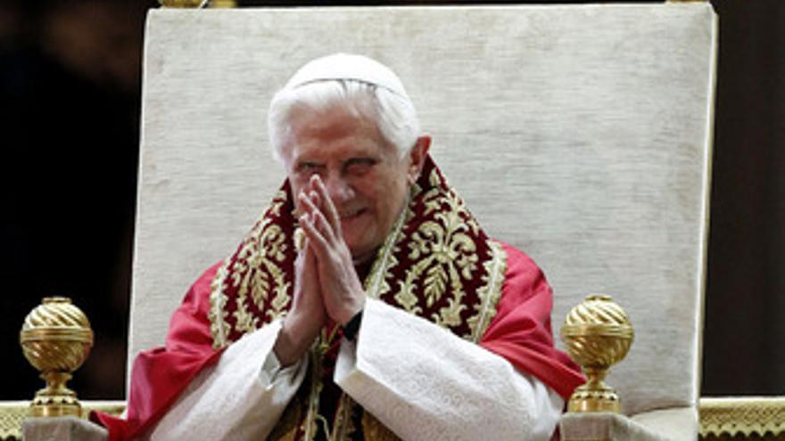 El Papa Benedicto XVI. (EP)