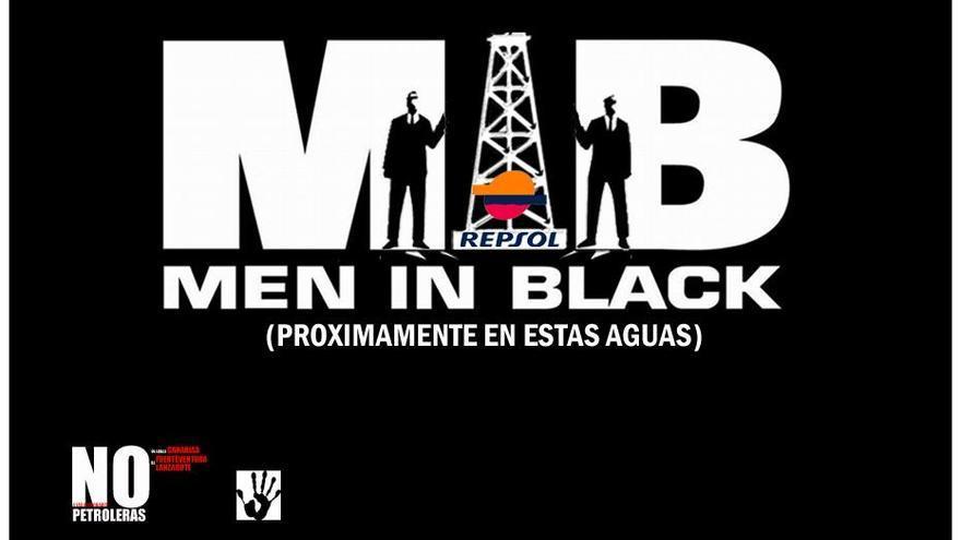 Uno de los 'memes' más populares en las redes sociales contra el petróleo en Canarias.