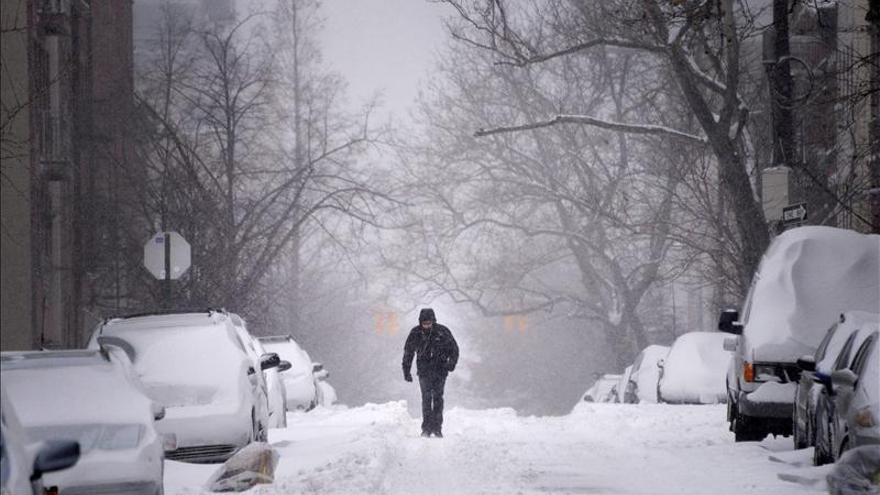 Nueva York sufre el frío más intenso desde hace 118 años