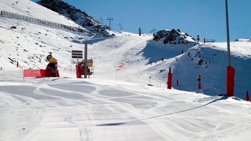 Sierra Nevada abre la pista Maribel y suma 56 kilómetros esquiables, 61 pistas y 17 remontes