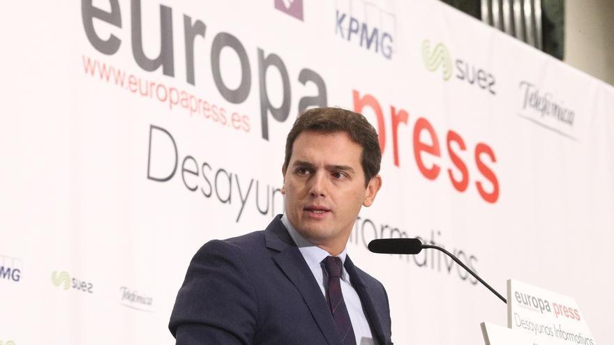 Rivera avisa de que la solución para Cataluña no es ceder más, ni un Cupo, ni la Justicia