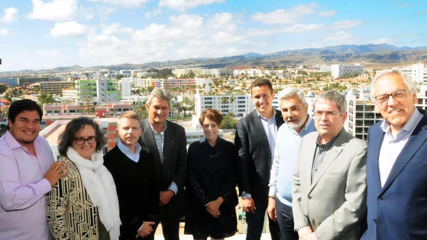 Asistentes a la reunión de la AMTC celebrada este lunes en Gran Canaria