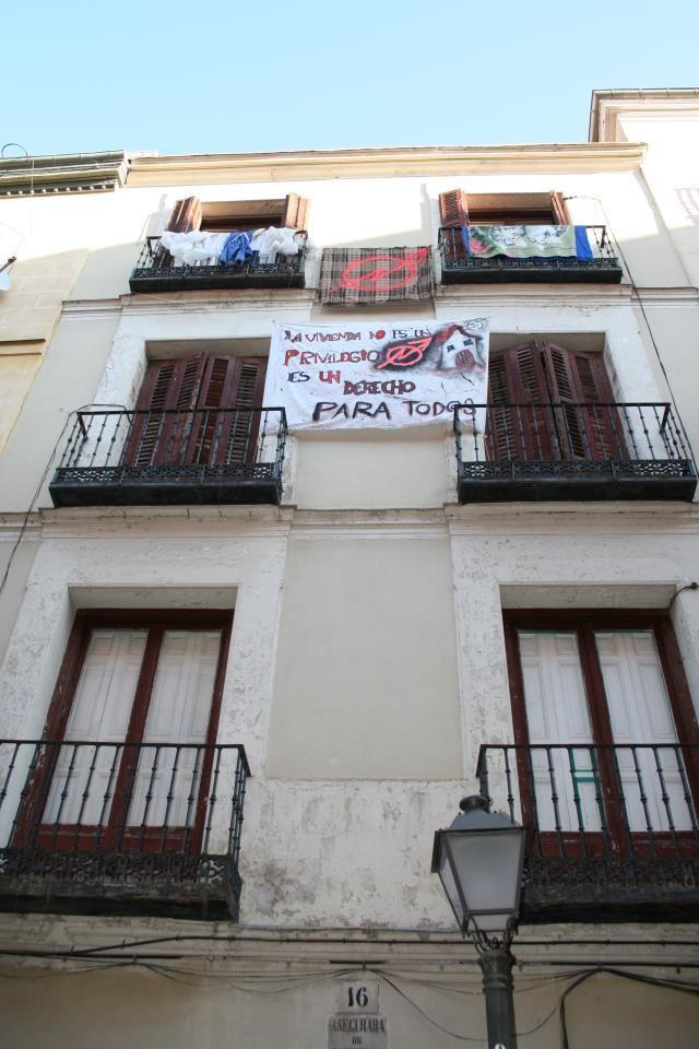 Fachada del número 16 de la calle Escorial