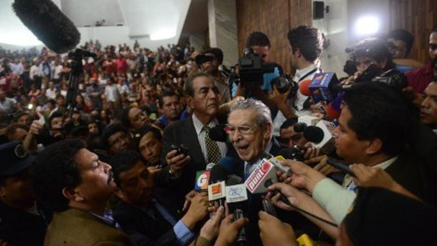 El exdictador Ríos Montt (EFE)