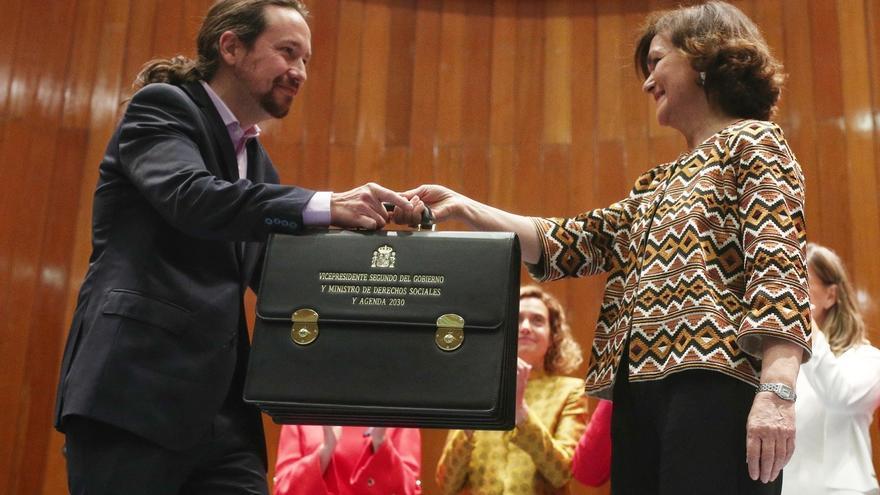 Los diputados de Unidas Podemos que entran al Gobierno no dejarán su escaño, salvo Victoria Rosell por incompatibilidad