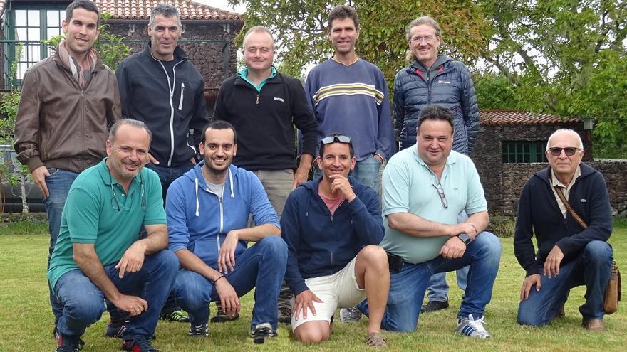 Los miembros de la asociación.