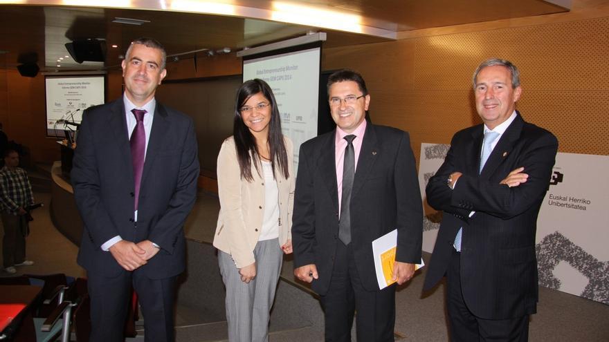 La actividad emprendedora en Euskadi comienza a recuperarse pero no alcanza las cifras previas a la crisis económica
