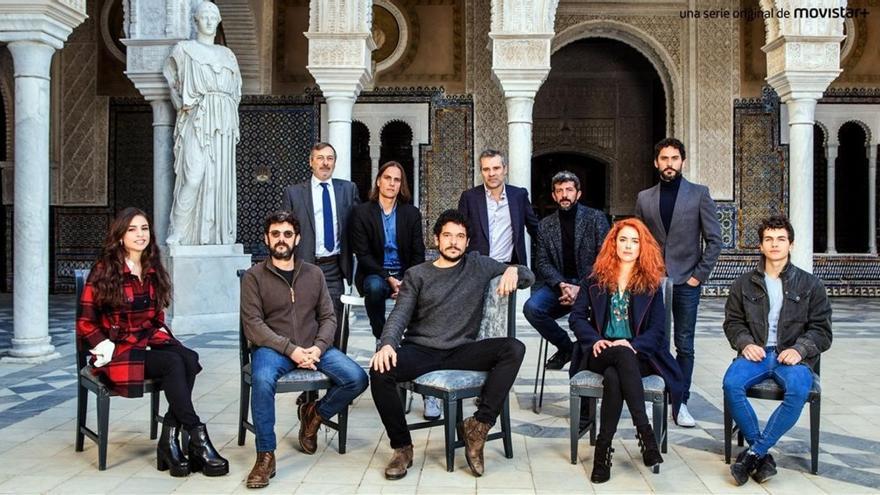 El equipo de 'La peste' presenta la serie de Movistar+ en Sevilla
