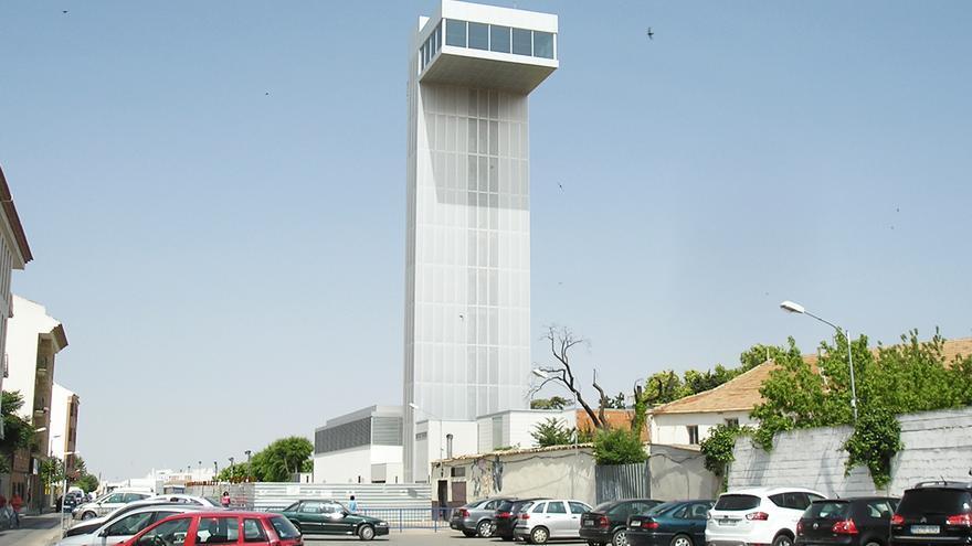 Torre del Vino de Socuéllamos (Ciudad Real) estando aún en construcción / Foto: Turismo Socuéllamos