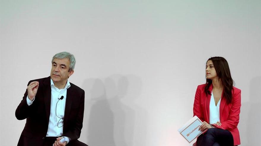 Arrimadas: PP y PSOE no abordan financiación por equilibrios territoriales