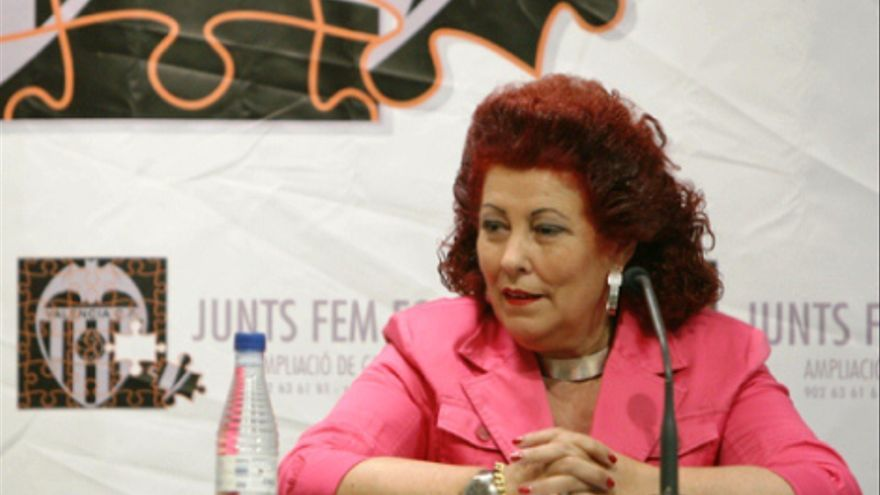 La exdirectora del IVAM, Consuelo Císcar