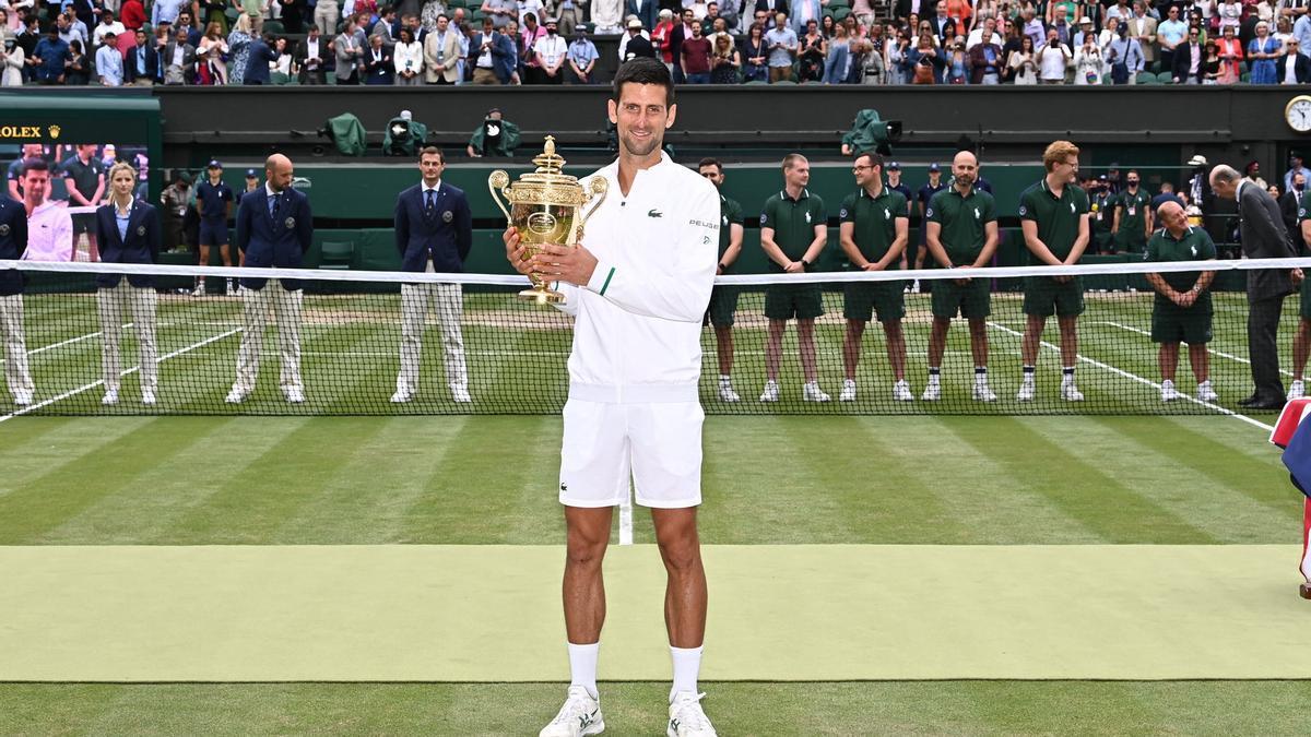 Novak Djokovic y su sexto título en Wimbledon