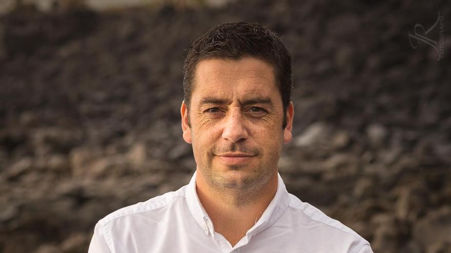 Mauricio Pérez, concejal del PSOE en el Ayuntamiento de Los Llanos de Aridane.
