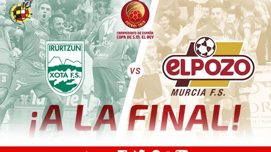 CD Xota y Pozo Murcia disputarán la final de la Copa del Rey.