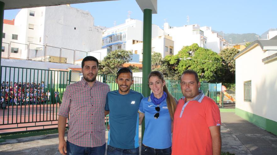 Raico Arrocha (i), José Carlos Hernández, Ana Toral y Alberto Fernández.