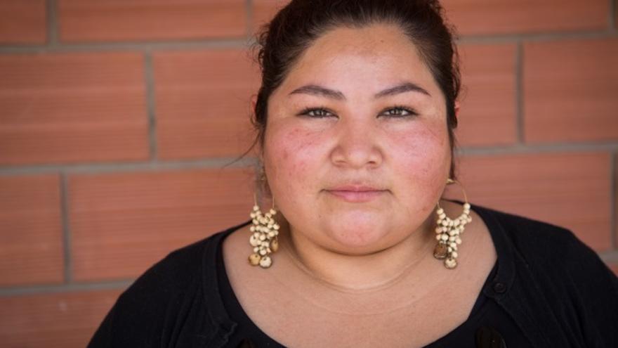 Shirley Plata es abogada y experta en género de Nor Sud, en Bolivia. Foto: Salva Campillo/AeA