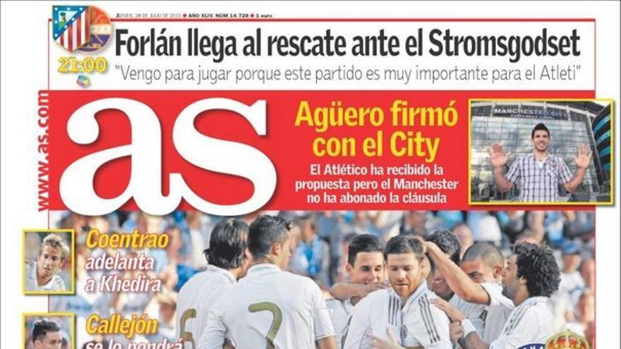 De las portadas del día (28/07/2011) #14