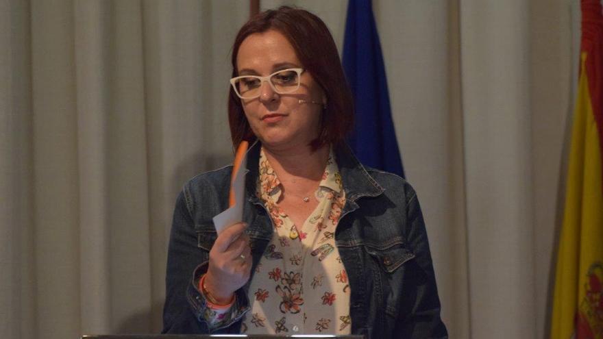 Isabel Franco, vicepresidenta y consejera de Política Social del Gobierno murciano