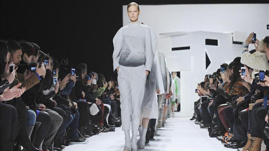 Presentació de noves creacions de Lacoste durant la Setmana de la Moda de Nova York