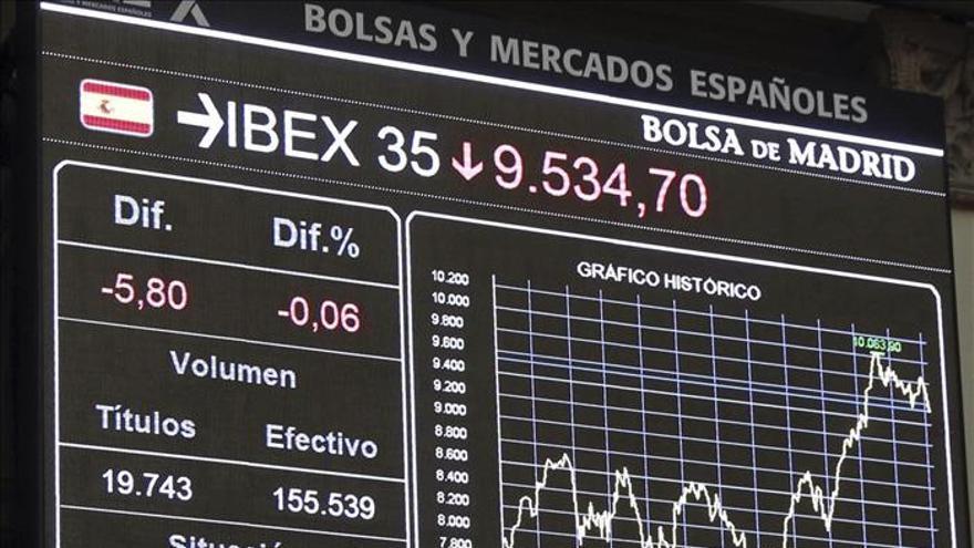 El IBEX ignora la mejora aplicada por Moody's a España y cae el 0,20 por ciento