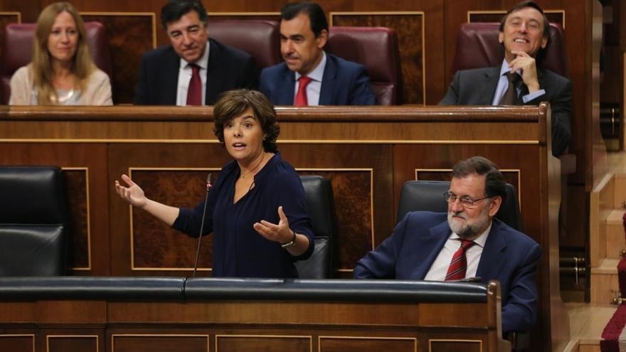 Santamaría reprocha a En Comú su indefinición y a ERC que impulse un referéndum de fabricación casera