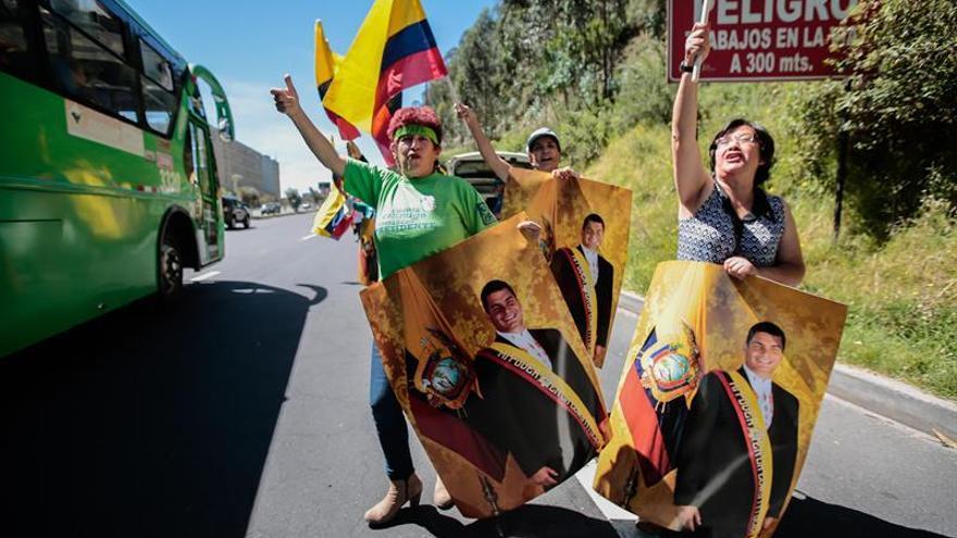 """El expresidente Correa asegura que deja un Ecuador """"transformado"""""""