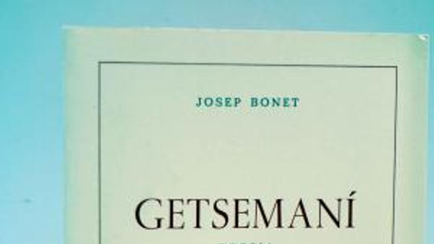 Un dels llibres de Josep Bonet.