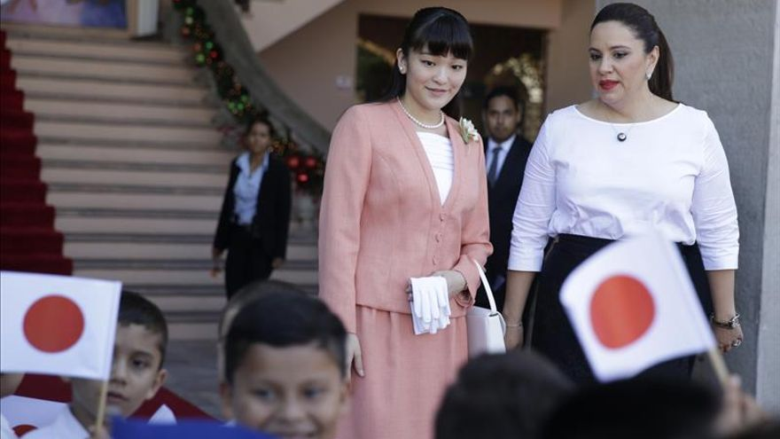 La princesa Mako agradecida por las actividades de los voluntarios japoneses en Honduras