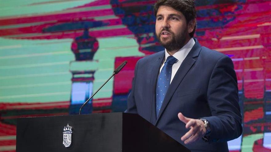 López-Miras pide a Tejerina medidas urgentes ante la escasez agua en Murcia