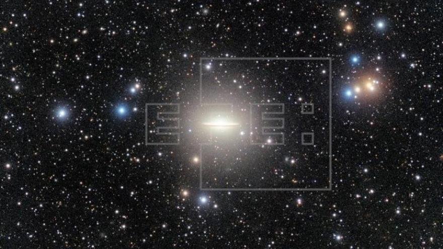 Observan una gran corriente de marea en la galaxia del Sombrero
