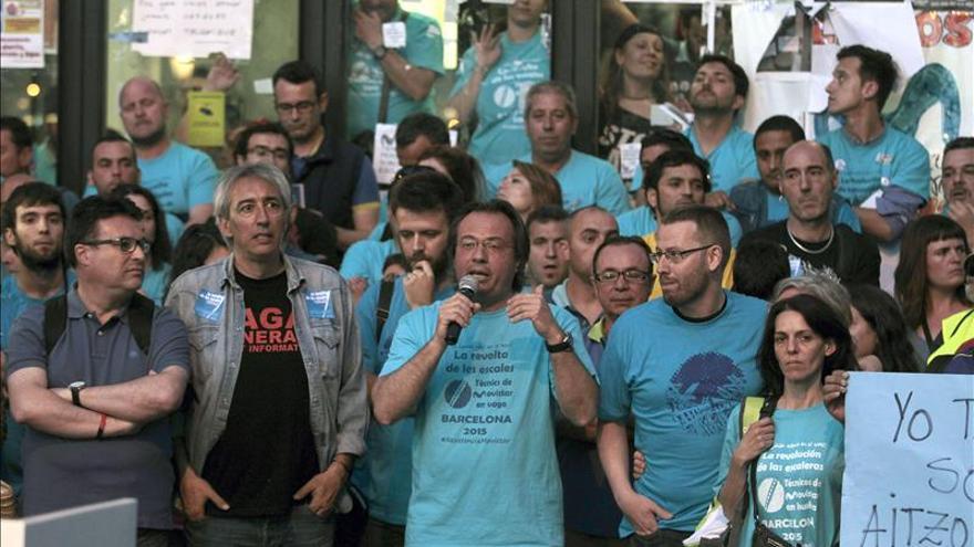 BCN en Comú frena contratos con Telefónica hasta que negocien con huelguistas