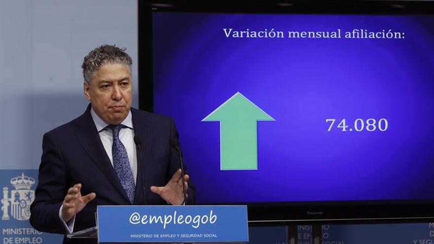 Tomás Burgos afirma que en abril se superarán los 18 millones de afiliados