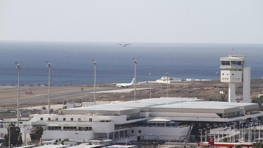 Aeropuerto de Lanzarote.