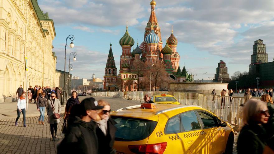 Viajeros Cuatro en Rusia