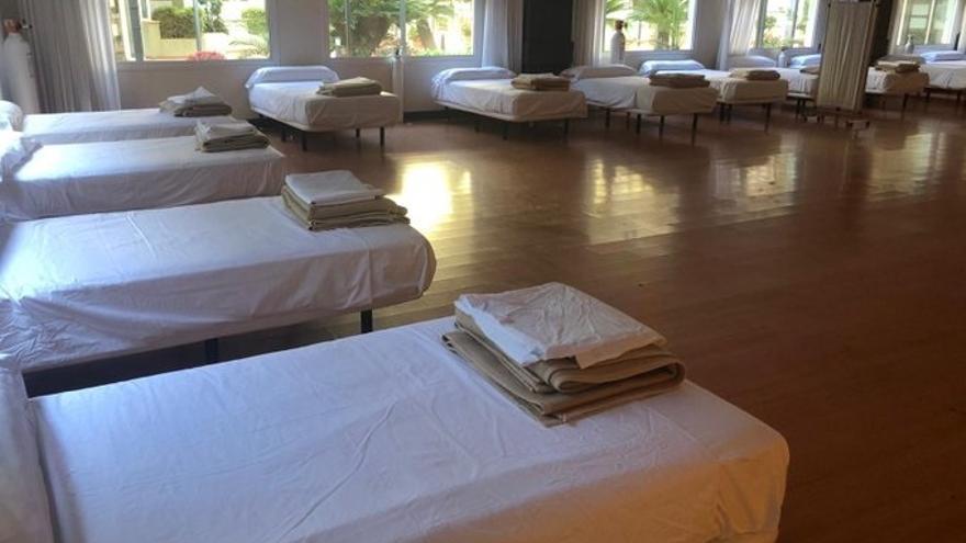 El Hotel Alcora empieza a recibir pacientes tras ser adaptado como hospital