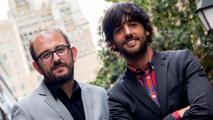 Los guionistas Borja Cobeaga y Diego San José