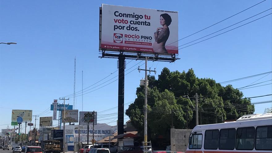 La candidata mexicana a diputada que promete implantes de pecho gratis