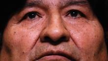 En la imagen el expresidente de Bolivia Evo Morales.