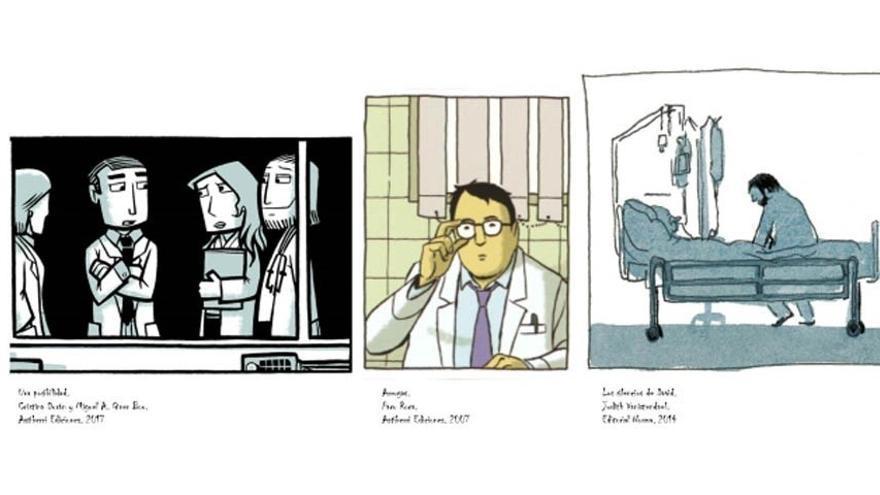 'La medicina en el cómic' de Augusto Saldaña