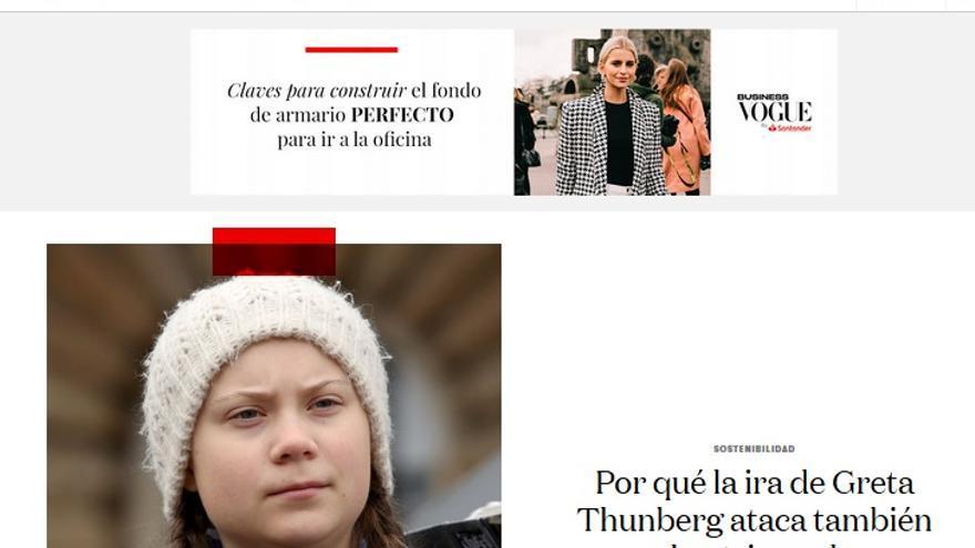 Vogue Greta