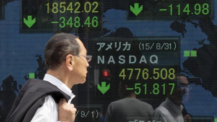 El Nikkei cae un 1 por ciento hasta los 19.500,03 puntos