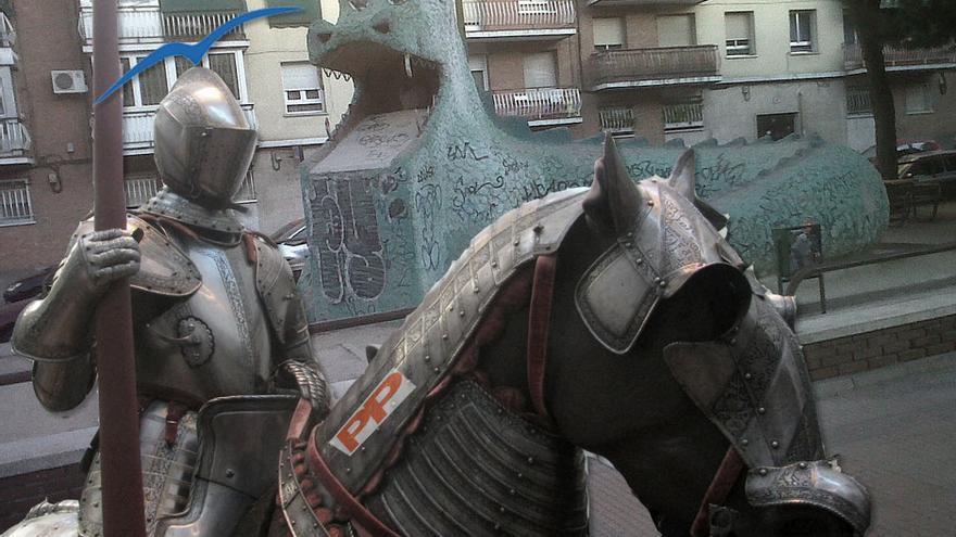 Caballero y dragón 2