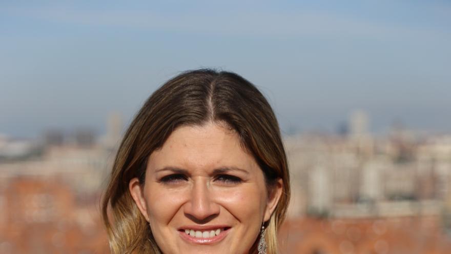 Raquel López, concejala de IU y candidata a las primarias internas en Madrid. / Foto: IU