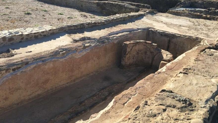 Este yacimiento aporta datos muy valiosos para comprender cómo fue el mundo rural romano entre los siglos I y V después de Cristo / Junta