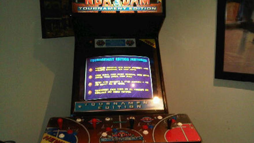 Una de las máquinas en las que se podía jugar al NBA Jam (Foto: Jason Rosenberg | Flickr)
